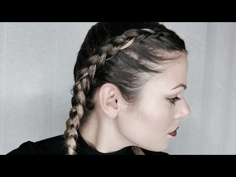 Tuto 2 tresses plaqu es boxer braids youtube - Comment faire deux tresse africaine ...