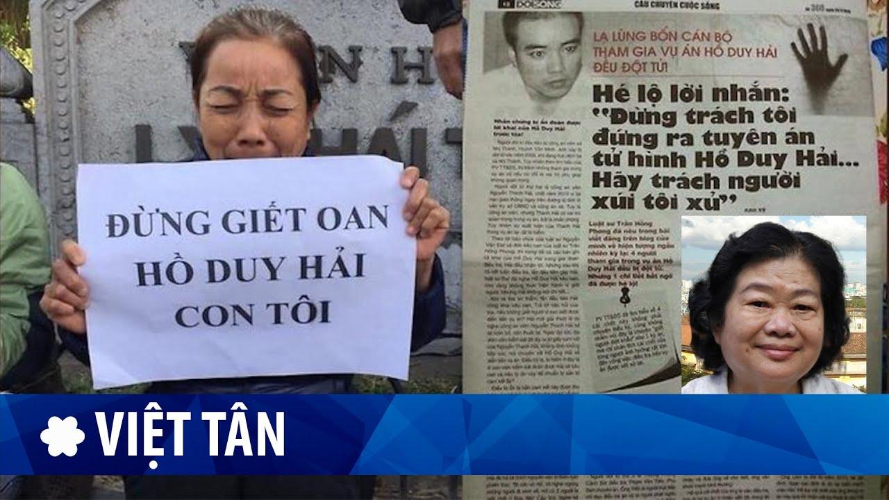 Phạm Minh Hoàng: bản án Hồ Duy Hải bị huỷ có thể liên quan đến Đại hội 13?