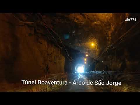 Obras, Túnel Boaventura - Arco de São Jorge