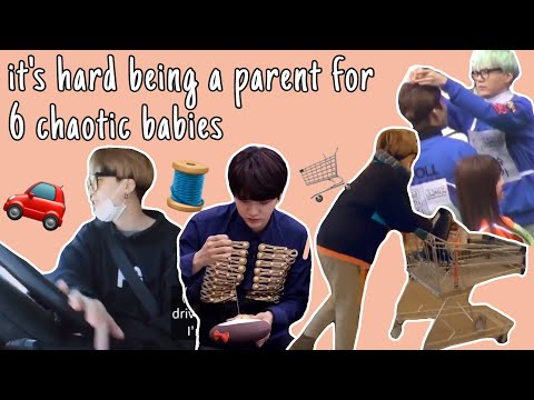 Yoongi being a single parent for bangtan | is this what we call a wifey material?