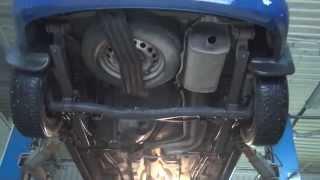 Замена глушителя на Volkswagen Caddy.Замена глушителя на Volkswagen Caddy в СПБ.(, 2015-04-06T06:58:05.000Z)