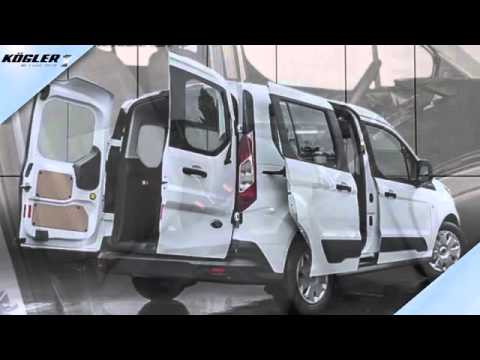 ford transit connect kombi 1 5 tdci 220 l1 trend pdc 26 youtube. Black Bedroom Furniture Sets. Home Design Ideas