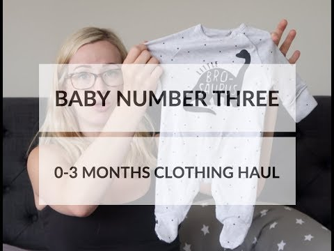 Baby Number Three | 0-3 Clothes Haul