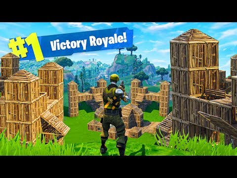 BUILDING a BRAND NEW CITY! - Fortnite: Battle Royale
