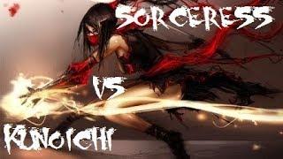 Black Desert Online Sorceress Vs Kunoichi 3