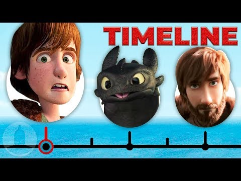 The Complete How To Train Your Dragon Timeline | Channel Frederator