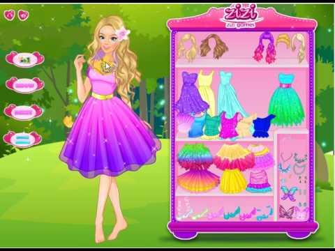 Фея. Костюм Феи. Бабочка-фея. Волшебная Барби. Игра для девочек. Обучающие видео