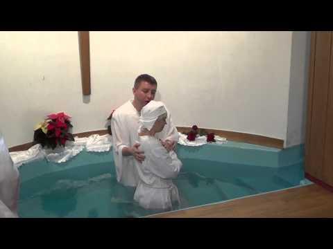 Chrzest Wiary W Kościele Zielonoświątkowym Zbór BETANIA  W Szczecinie