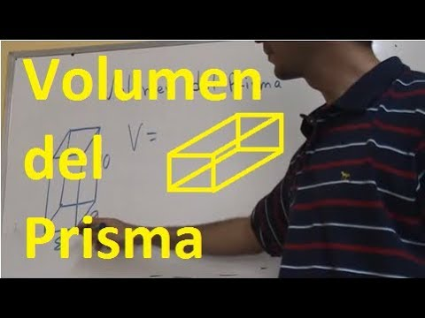 volumen del prisma youtube. Black Bedroom Furniture Sets. Home Design Ideas