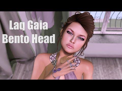 LAQ Gaia Bento Mesh Head in Second Life