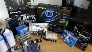 Ultimate Water Cooling PC build Time Lapse