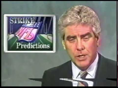 1987 NFL Strike New Orleans Saints TV News