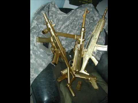 real gold guns youtube