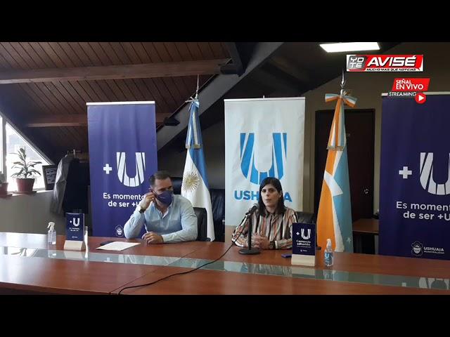 YOTEAVISÉ, Presentación de la tarjeta de beneficios +U. Municipalidad de Ushuaia,