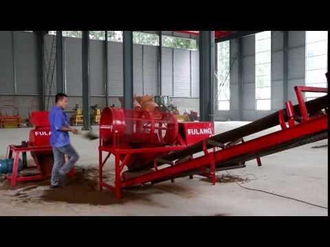 Linyi Fulang Soil sieve for soil interlocking brick machine production line