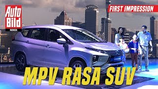 Low MPV Mitsubishi First Impression Review Auto Bild Indonesia