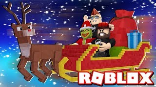 HELP SANTA SAVE CHRISTMAS in ROBLOX THE GRINCH OBBY