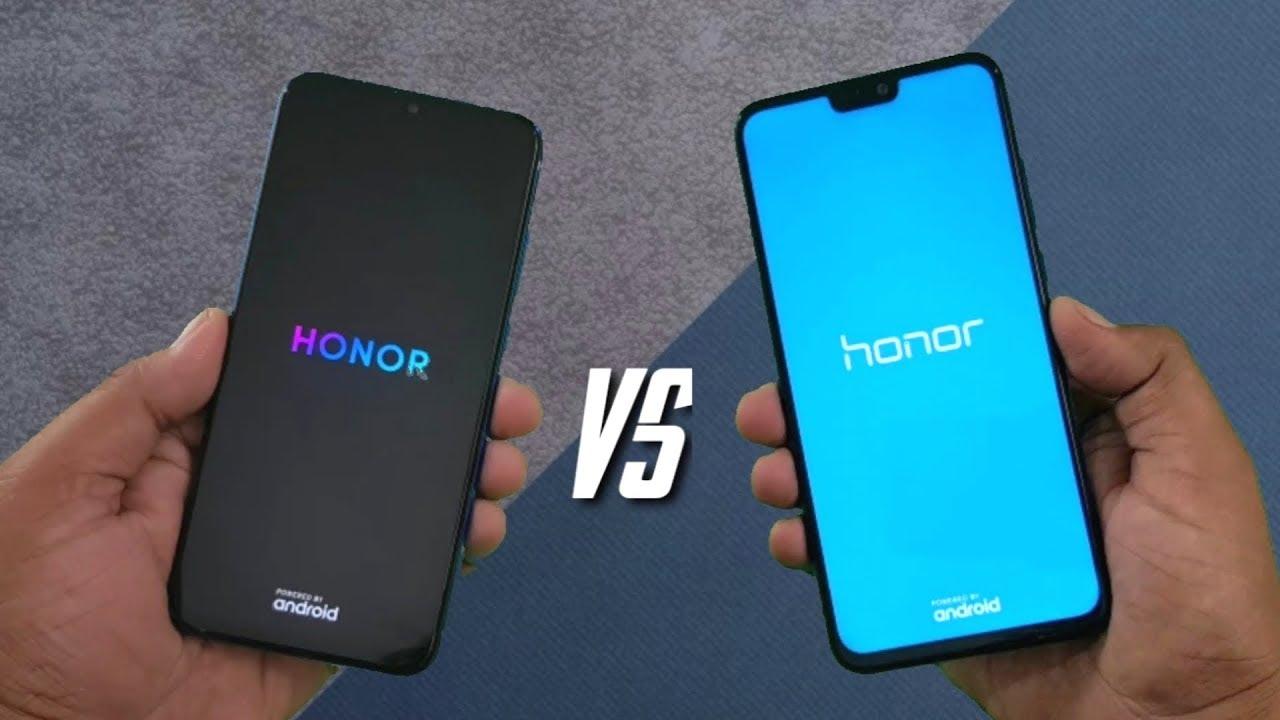 Honor 20i vs Honor 8X SpeedTest & Camera Comparison