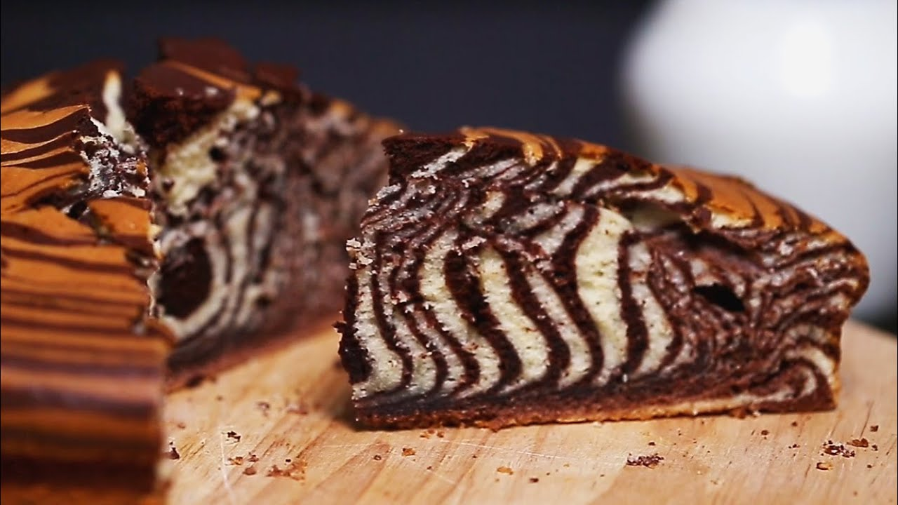 Recipes Zebra Cake