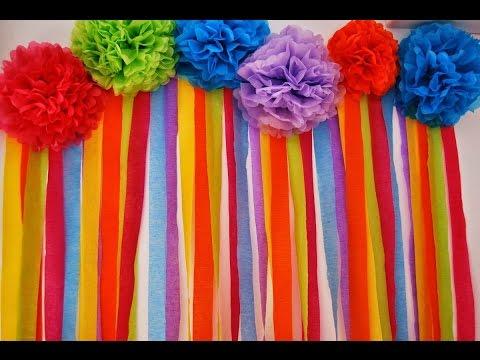 Como hacer cortinas para fiestas youtube - Hacer cortinas infantiles ...