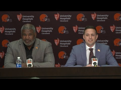 Eliot Wolf & Alonzo Highsmith Draft Day 2 Press Conference  Cleveland Browns