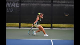 2019 Women's Tennis Championship - USF Quarterfinal Post Match