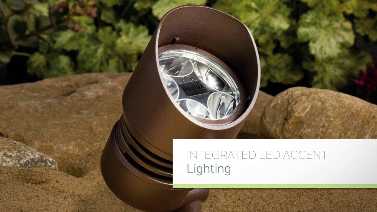 kichler lighting led landscape accent lighting