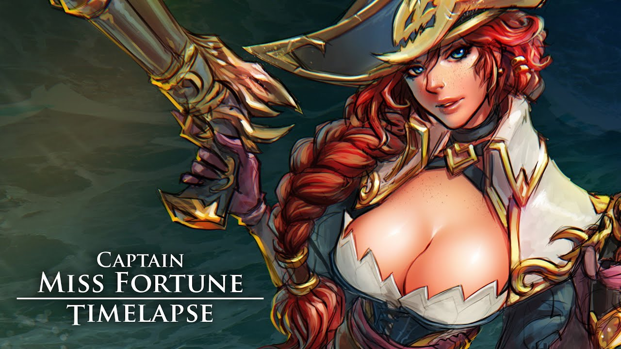 Fortune nackt miss lol Miss Fortune