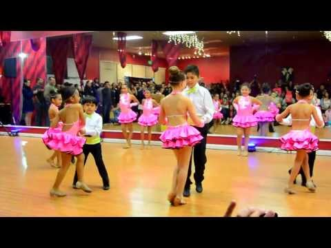 Montuno Stars Kid's Team at the Montuno Dance Company Fall Showcase 2013- Salsa..and Bachata!