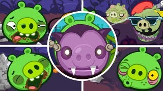 Bad Piggies - Tusk Til Dawn Halloween (Level 13 to 16) [Mobile Games]