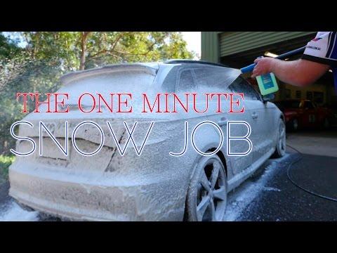 The 1 minute Snow Job