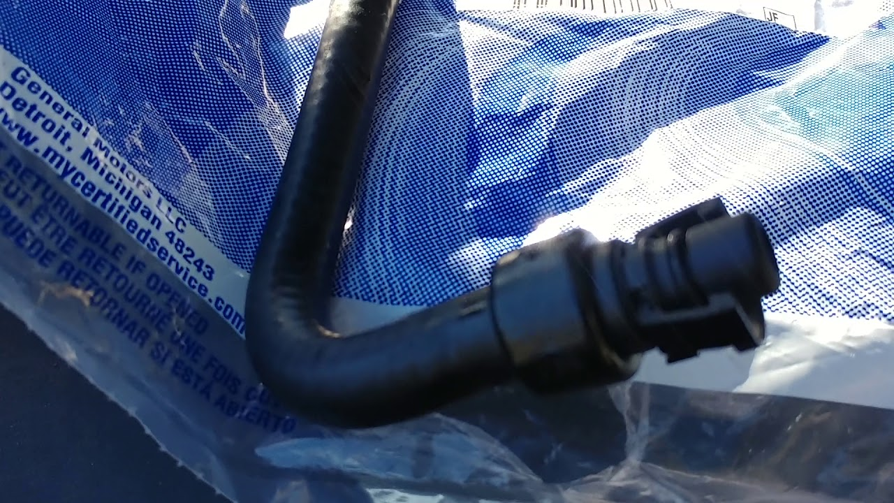 2013 Lt Chevy Cruze Coolant Hose Leak Vid 1 Of 2 Youtube