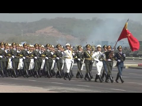 Pakistani president thanks China for parade participation