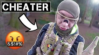 Airsoft CHEATER Gets Caught Red Handed! (Confrontation🤬)