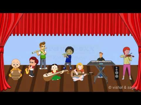 National Anthem of  india Janaganamana Instrumental & Animation