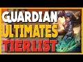 SMITE - Guardian Ultimates Tierlist!
