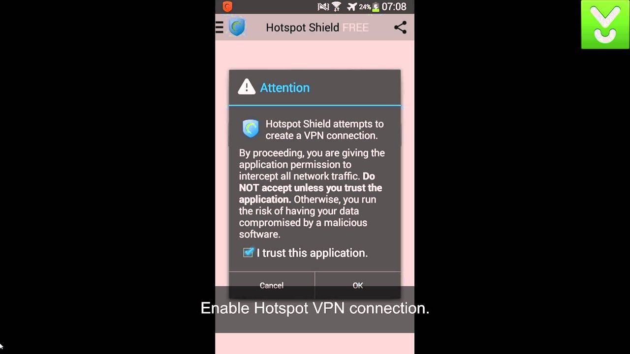 hotspot shield for android 2.2