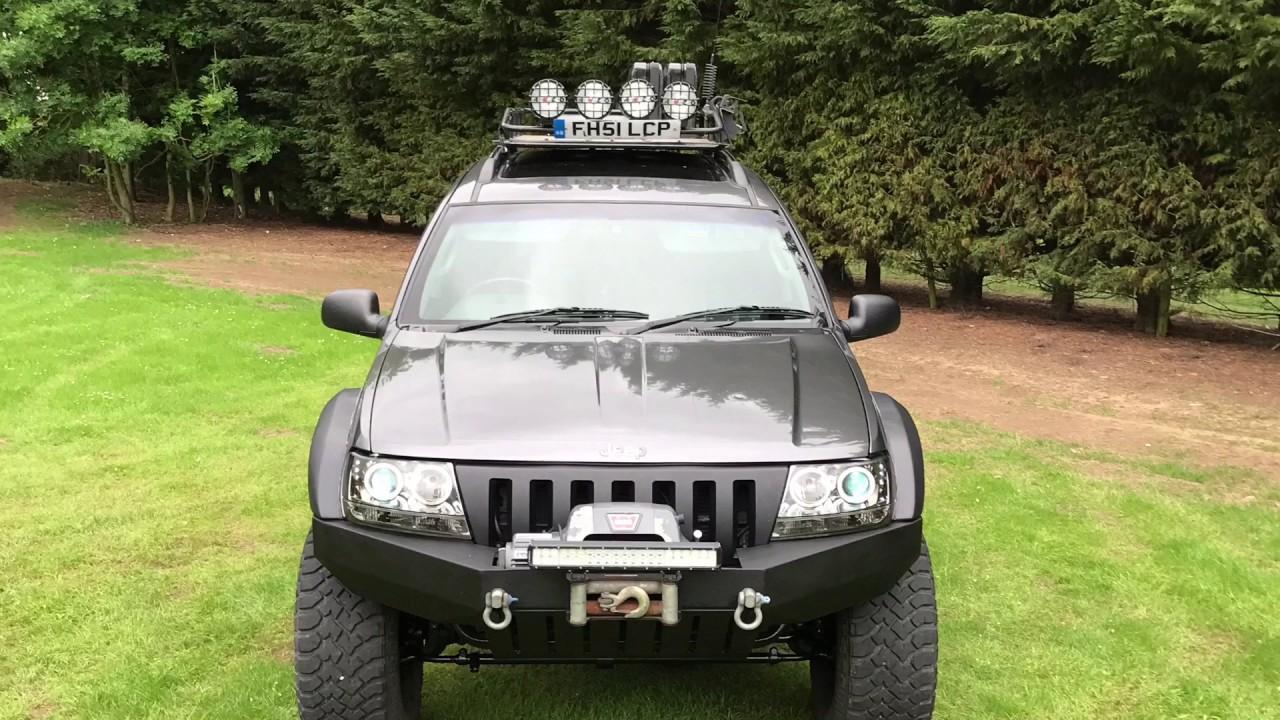 Jeep Grand Cherokee Wj V8 Grey Thunder Youtube