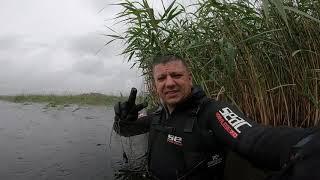 подводная охота в дождь spearfishing eesti