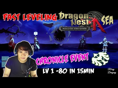 Dragon Nest SEA - Chronicle Event  Artillery Char Creation (Skip All Story)
