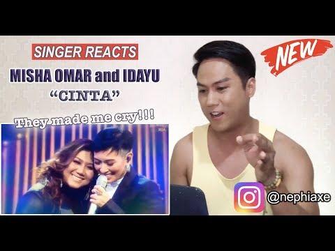 Misha Omar and Idayu - Cinta [SINGER REACTS]