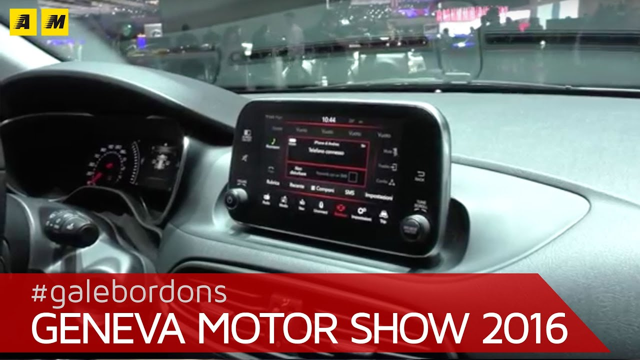fiat tipo sw focus infotainment ginevra 2016 youtube. Black Bedroom Furniture Sets. Home Design Ideas