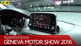 Fiat tipo sw: focus infotainment | ginevra 2016