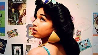How I made my Jasmine cosplay wig for under $50!