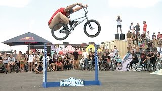 "BMX - 49"" Inch Bunnyhop - High Hop Contest at Texas Toast 2014"