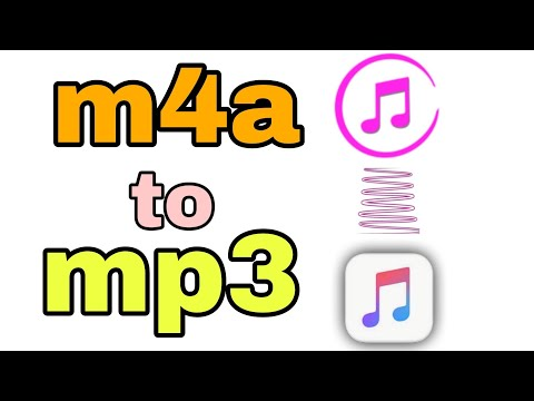M4a to mp3 convert for mobile, m4a file convert to mp3 file in mobile