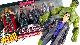 Marvel Legends Avengers Age of Ultron Doctor Bruce Banner Hulk Action Figure
