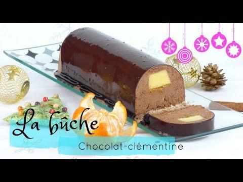 bûche-de-noël-clémentine-et-chocolat