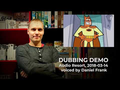 Daniel Frank | Dubbing Demo (Audio Resort)