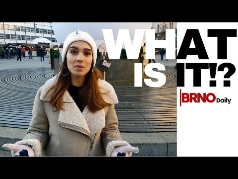 Brno Christmas -  What is the white globe in Freedom Square in Brno? (Brno Daily)